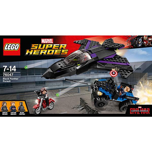 LEGO Super Heroes 76047: Преследование Чёрной Пантеры