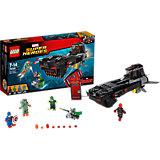 LEGO Super Heroes 76048: Похищение Капитана Америка