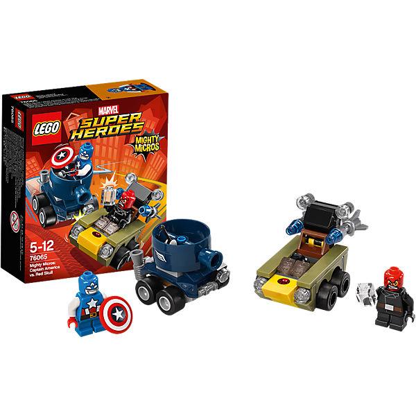 LEGO Super Heroes 76065: Капитан Америка против Красного Черепа