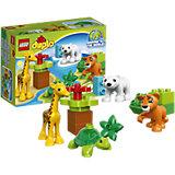 LEGO DUPLO 10801: Вокруг света: малыши