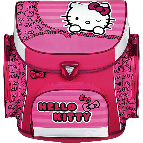 Schulranzenset Campus Plus Hello Kitty, 5-tlg. - Kollektion 2016