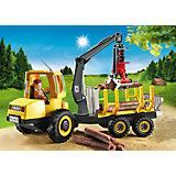 PLAYMOBIL® 6813 Holztransporter mit Kran