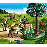 PLAYMOBIL® 6815 Waldlichtung mit Tierfütterung