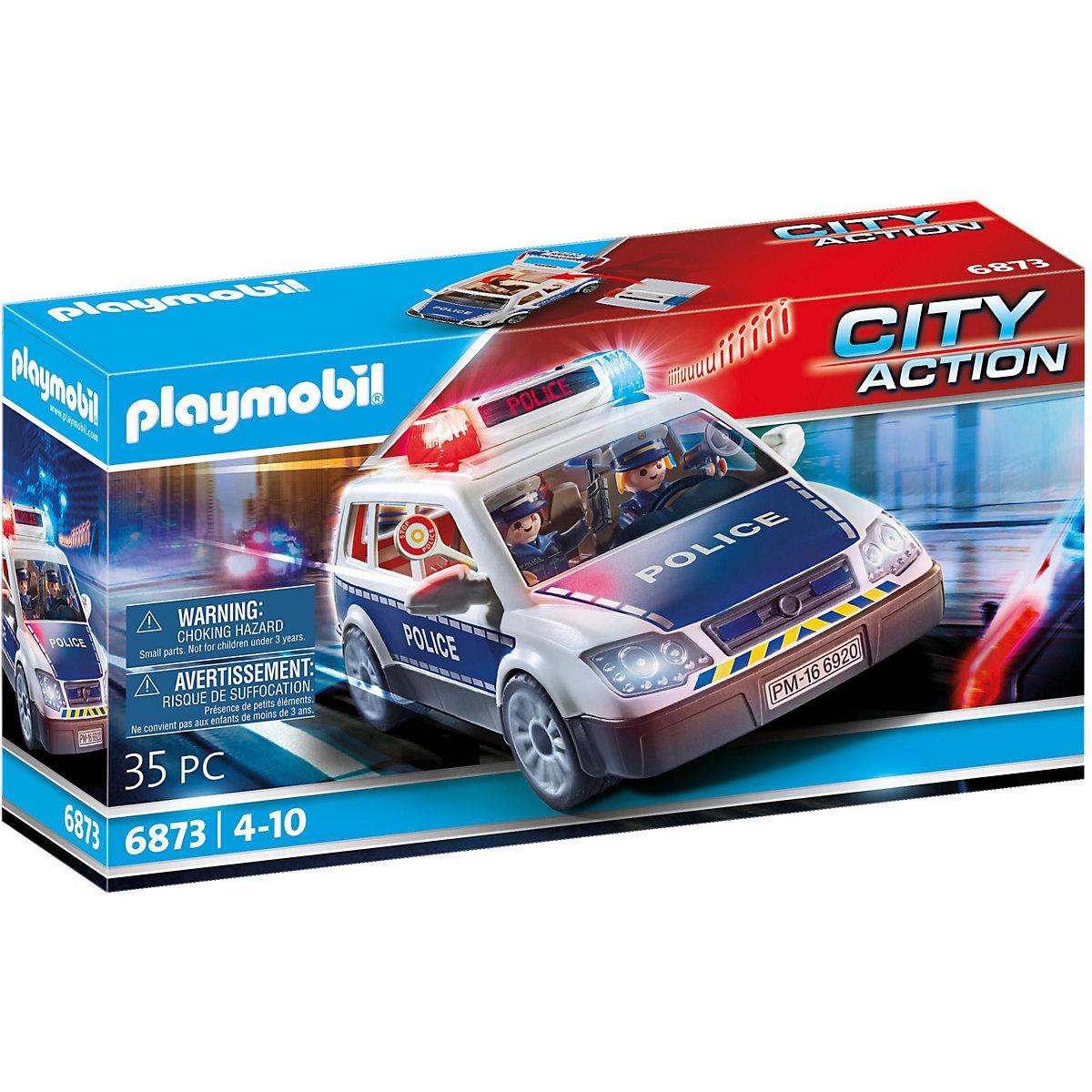 playmobil® 6873 polizeieinsatzwagen playmobil city
