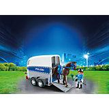 PLAYMOBIL® 6875 Berittene Polizei mit Anhänger