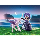PLAYMOBIL® 6837 Osterei Mondscheinkönigin mit Baby-Pegasus (Version 2016)