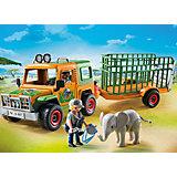 PLAYMOBIL® 6937 Rangergeländewagen mit Anhänger
