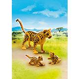 PLAYMOBIL® 6940 Leopard mit Babys
