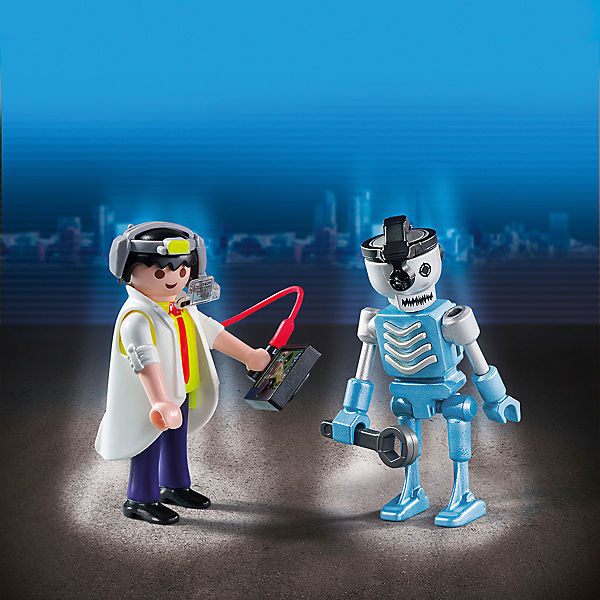 PLAYMOBIL® 6844 Duo Pack Professor und Roboter