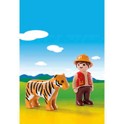 PLAYMOBIL® 6976 1-2-3: Wildhüter mit Tiger