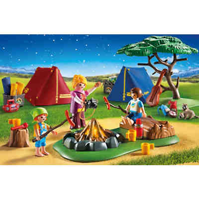 PLAYMOBIL® 6888 Zeltlager mit LED-Lagerfeuer