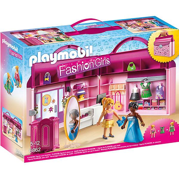 playmobil 6862 modeboutique zum mitnehmen playmobil city. Black Bedroom Furniture Sets. Home Design Ideas
