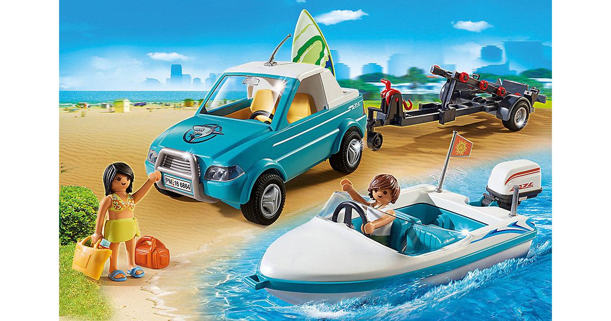 6864 Surfer-Pickup mit Speedboat (Aktionsartikel)