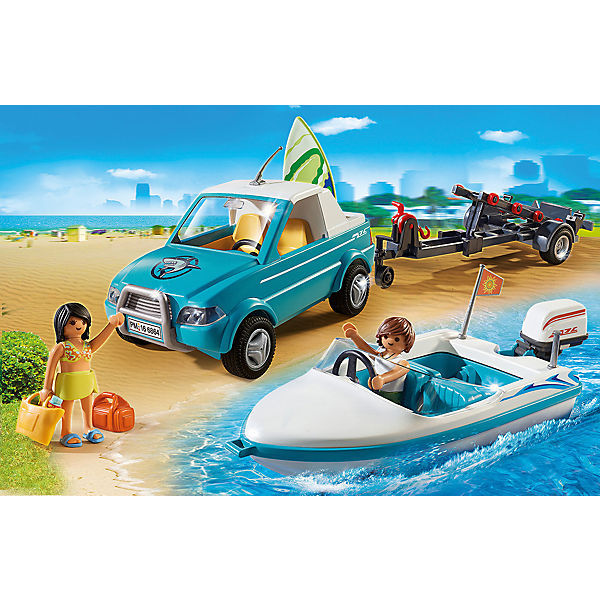 PLAYMOBIL® 6864 Surfer-Pickup mit Speedboat (Aktionsartikel)