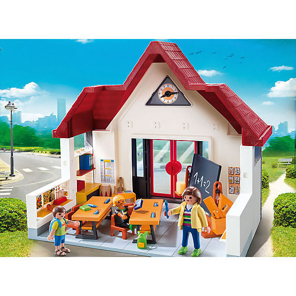 playmobil 6865 schulhaus aktionsartikel playmobil. Black Bedroom Furniture Sets. Home Design Ideas