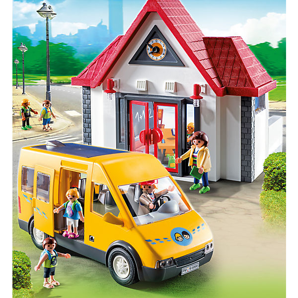 playmobil 6866 schulbus aktionsartikel playmobil mytoys. Black Bedroom Furniture Sets. Home Design Ideas