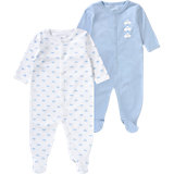 Baby Schlafstrampler Doppelpack für Jungen
