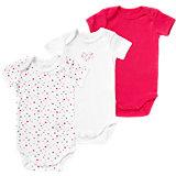 Baby Body 3er- Pack für Mädchen