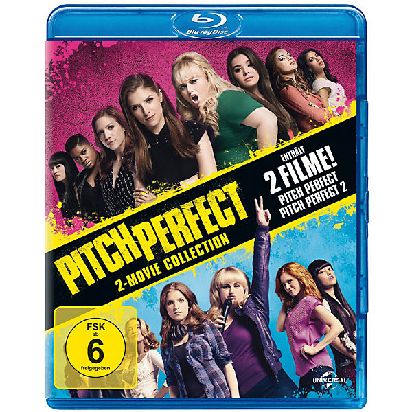 BLU-RAY Pitch Perfect 1 & 2