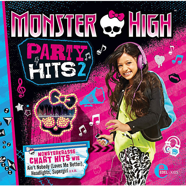 CD Monster High - Party Hits 2
