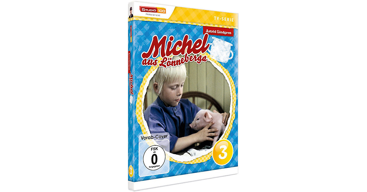 DVD Michel aus Lönneberga 3