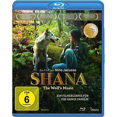 BLU-RAY Shana - The Wolf's Music