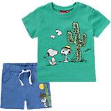 SNOOPY Set T-Shirt + Shorts für Jungen