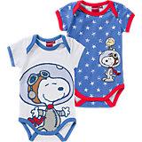 SNOOPY Baby Body Doppelpack für Jungen