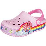 Kinderschuhe Rainbow Clog Blinkies