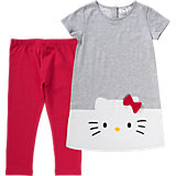 HELLO KITTY Kinder Set Kleid + Leggings