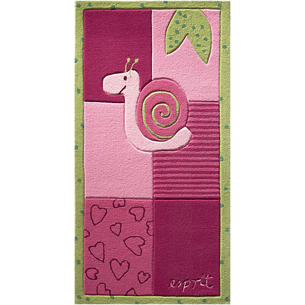 Kinderteppich Bee, pink