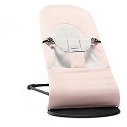 Кресло-шезлонг Balance Soft Cotton Jerrsey, BabyBjorn, светло-розовый