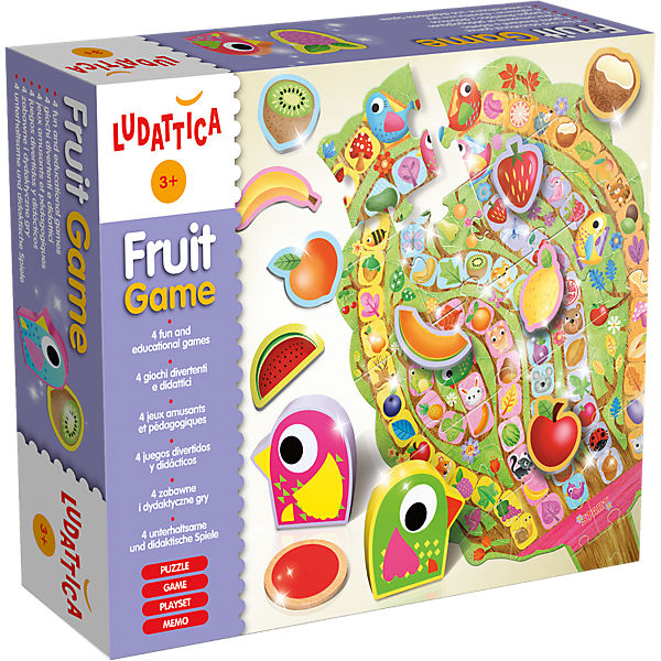Fruit Game - 4 in 1 Spielset
