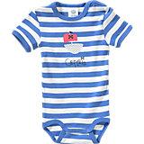 SANETTA Baby Body für Jungen Organic Cotton