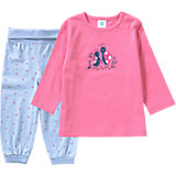 SANETTA Baby Schlafanzug für Mädchen Organic Cotton