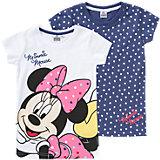 DISNEY MINNIE MOUSE T-Shirt Doppelpack für Mädchen