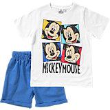 DISNEY MICKEY MOUSE & FRIENDS Set T-Shirt + Sweatshorts