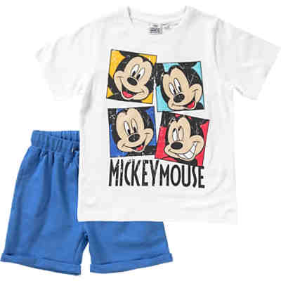 Disney Mickey Mouse & friends Set T-Shirt & Sweatshorts für Jungen