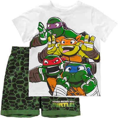 Teenage Mutant Ninja Turtles Set T-Shirt & Sweatshorts für Jungen