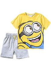 MINIONS Set T-Shirt + Sweatshorts für Jungen