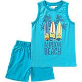 MINIONS Set Tanktop + Shorts für Jungen