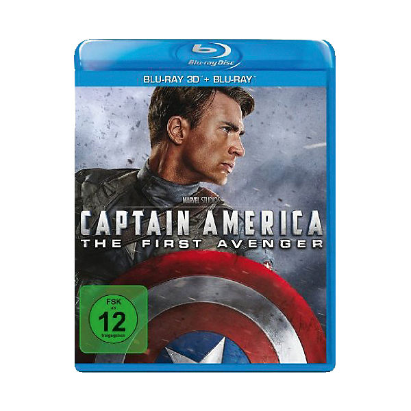 BLU-RAY Captain America - The First Avenger (Blu-ray 2D+Blu-ray 3D)