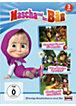 DVD Masha und der Bär- 3 er DVD-Box Folgen 1,2und 4