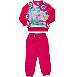 Комплект для девочки: толстовка и брюки Sweet Berry