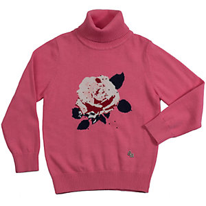 Свитер для девочки Sweet Berry - розовый