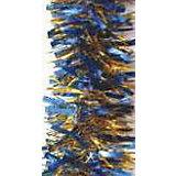 Сине-золотая мишура 9*200 см