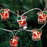 "Электрогирлянда ""Дед Мороз"" 250 см, 16 ламп"