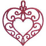 """Украшение """"Красное сердце"""""""
