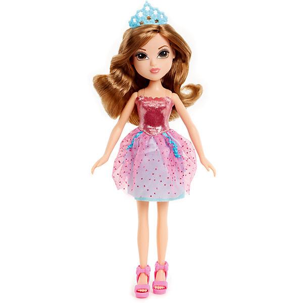 Принцесса в розовом платье картинка