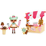 "Игрушка ""Интерьер: Магазин мороженого"", Lalaloopsy Mini"